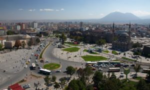 A view of downtown Kayseri